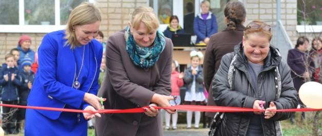 В с. Усть-Зула открытие многофункциональной игровой площадки 800м2 с детским спортивно–оздоровительным комплексом
