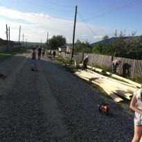 Администрация Юрлинского сельского поселения и МКУ «Юрлинское ЖКХ» выражает огромную благодарность работу по замене тротуар